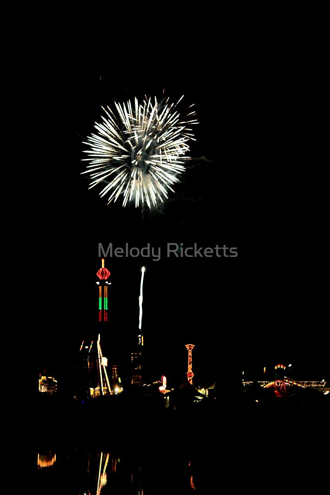 Canton Fireworks by Melody Ricketts