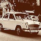 Vintage Indian Ambassador by andreaminerdo