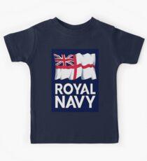 Royal Navy Kids Tee