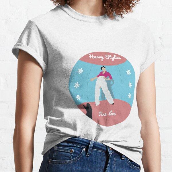 Etiqueta de línea fina Camiseta clásica