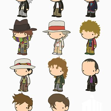 The 11 Doctors by MikeyTurvey