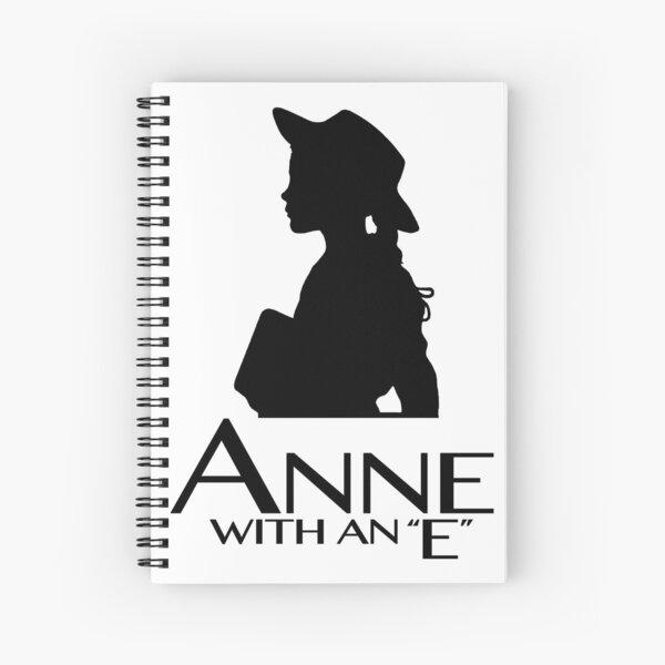 Anne con una E. Cuaderno de espiral
