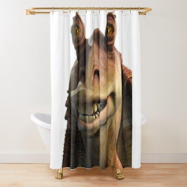 Jar Jar Binks Shower Curtain