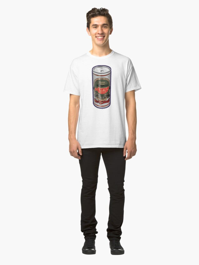 Alternate view of Weylan Yutani Beer Can Classic T-Shirt