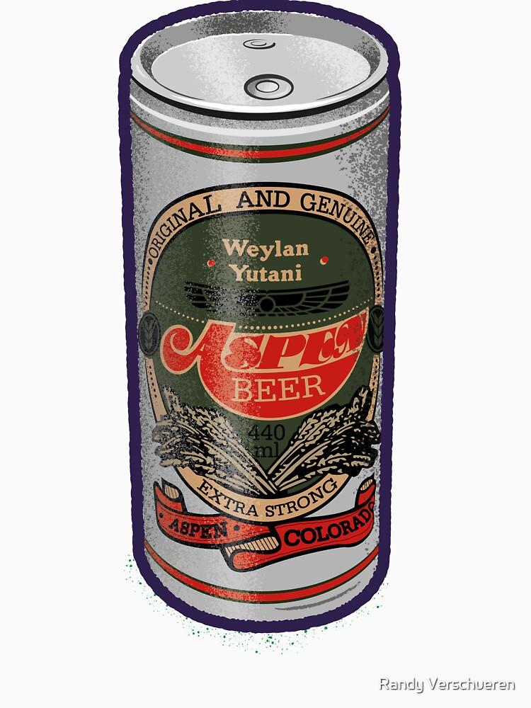 Weylan Yutani Beer Can by vieke