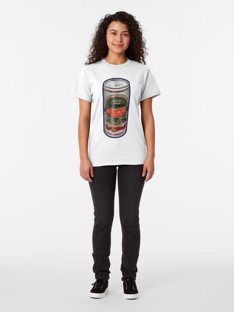 Alternate view of Weylan Yutani Beer Can Classic T-Shirt