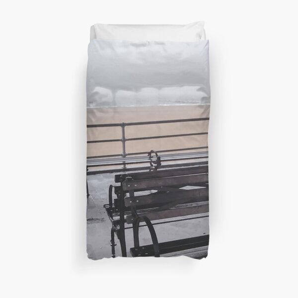 Coney Island - New York, #Coney, #Island, #New, #York, #ConeyIsland, #NewYork, New York City, City in New York Duvet Cover