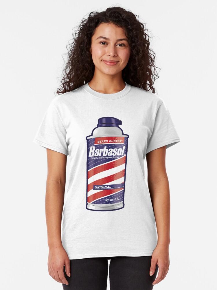 Alternate view of Barbasol Shaving Cream Classic T-Shirt
