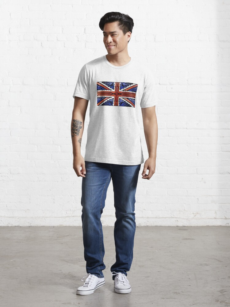 Alternate view of Crazy Flag # 243 Essential T-Shirt