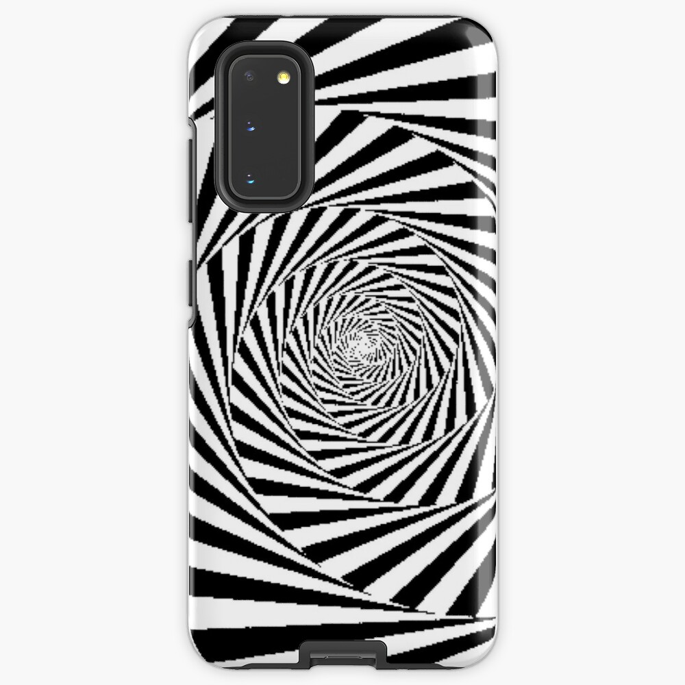 Optical Illusion Beige Swirl,  icr,samsung_galaxy_s20_tough,back,a,x1000-pad,1000x1000,f8f8f8
