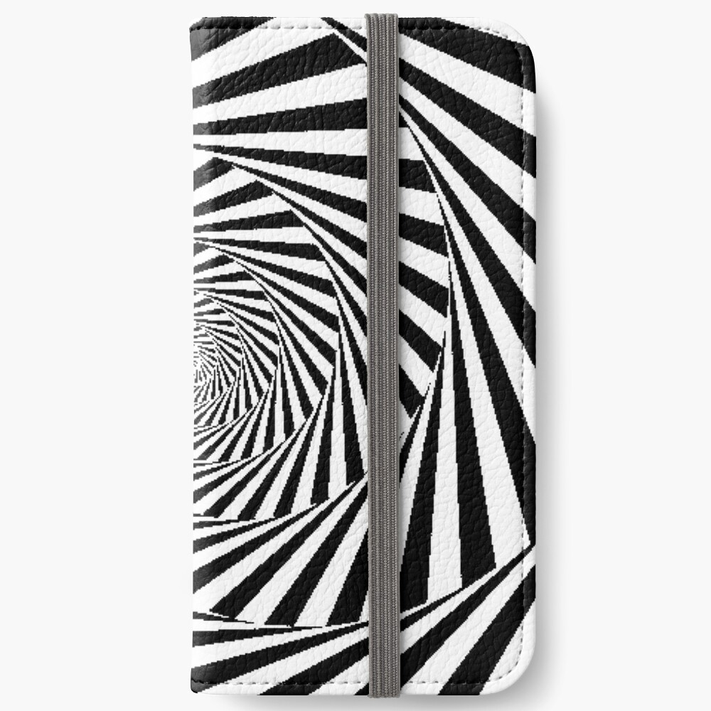 Optical Illusion Beige Swirl,  wallet,1000x,iphone_6s_wallet-pad,1000x1000,f8f8f8