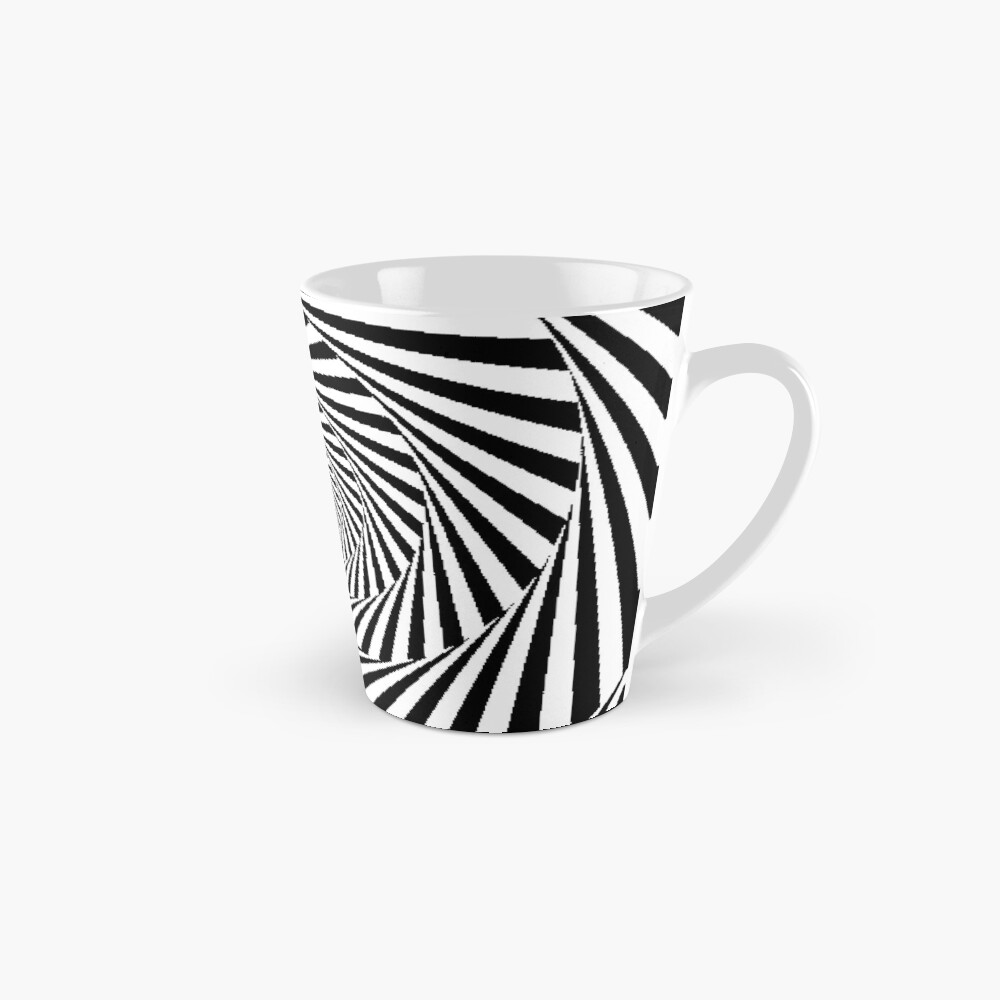 Optical Illusion Beige Swirl,  mug,tall,x1000,right-pad,1000x1000,f8f8f8