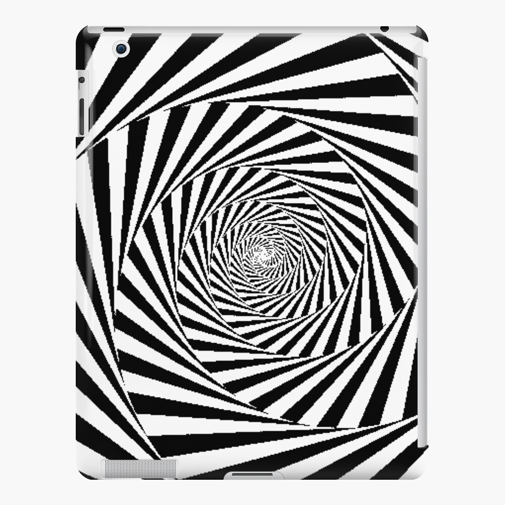 Optical Illusion Beige Swirl,  mwo,x1000,ipad_2_snap-pad,1000x1000,f8f8f8