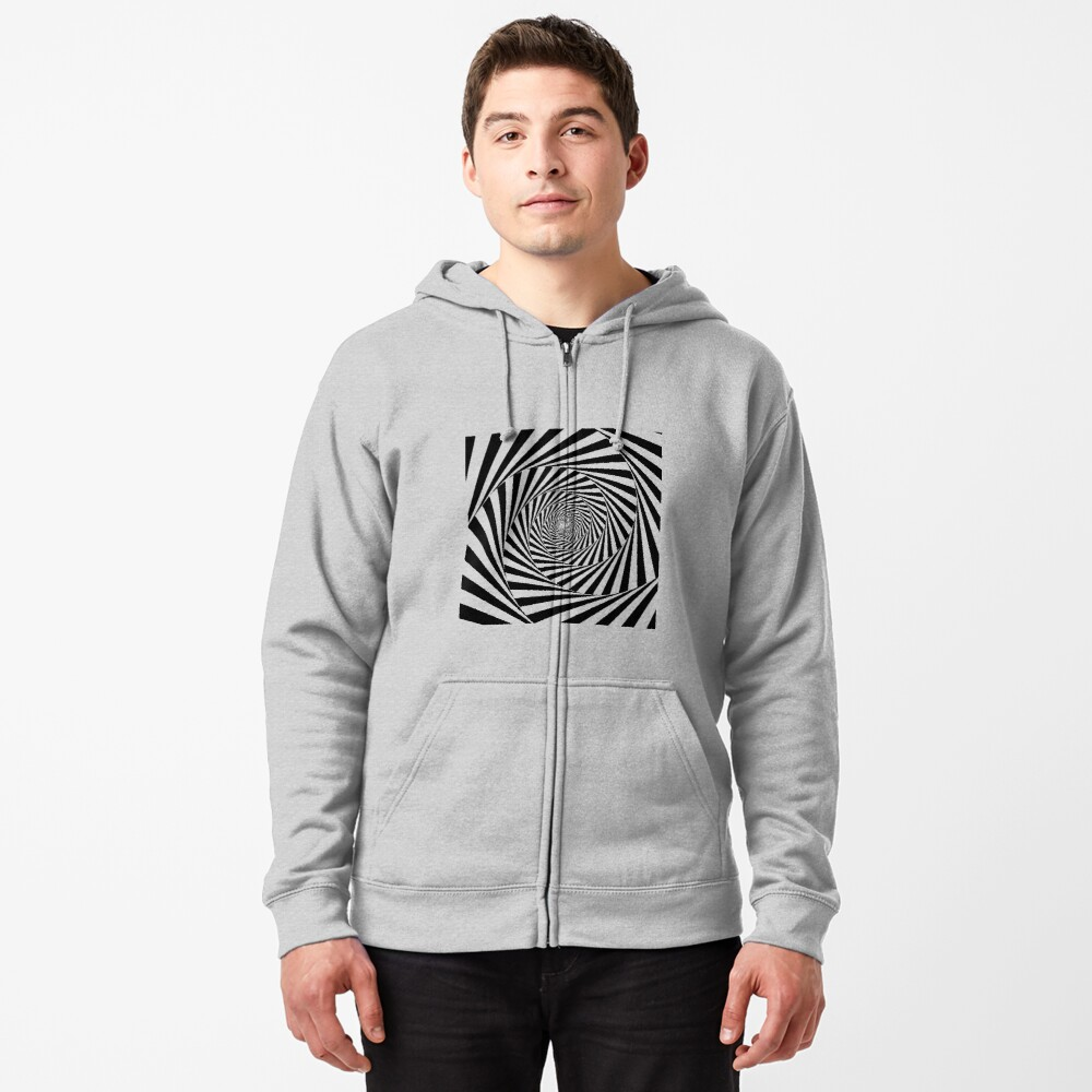 Optical Illusion Beige Swirl,  ssrco,mhoodiez,mens,heather_grey,front,square_three_quarter,1000x1000-bg,f8f8f8