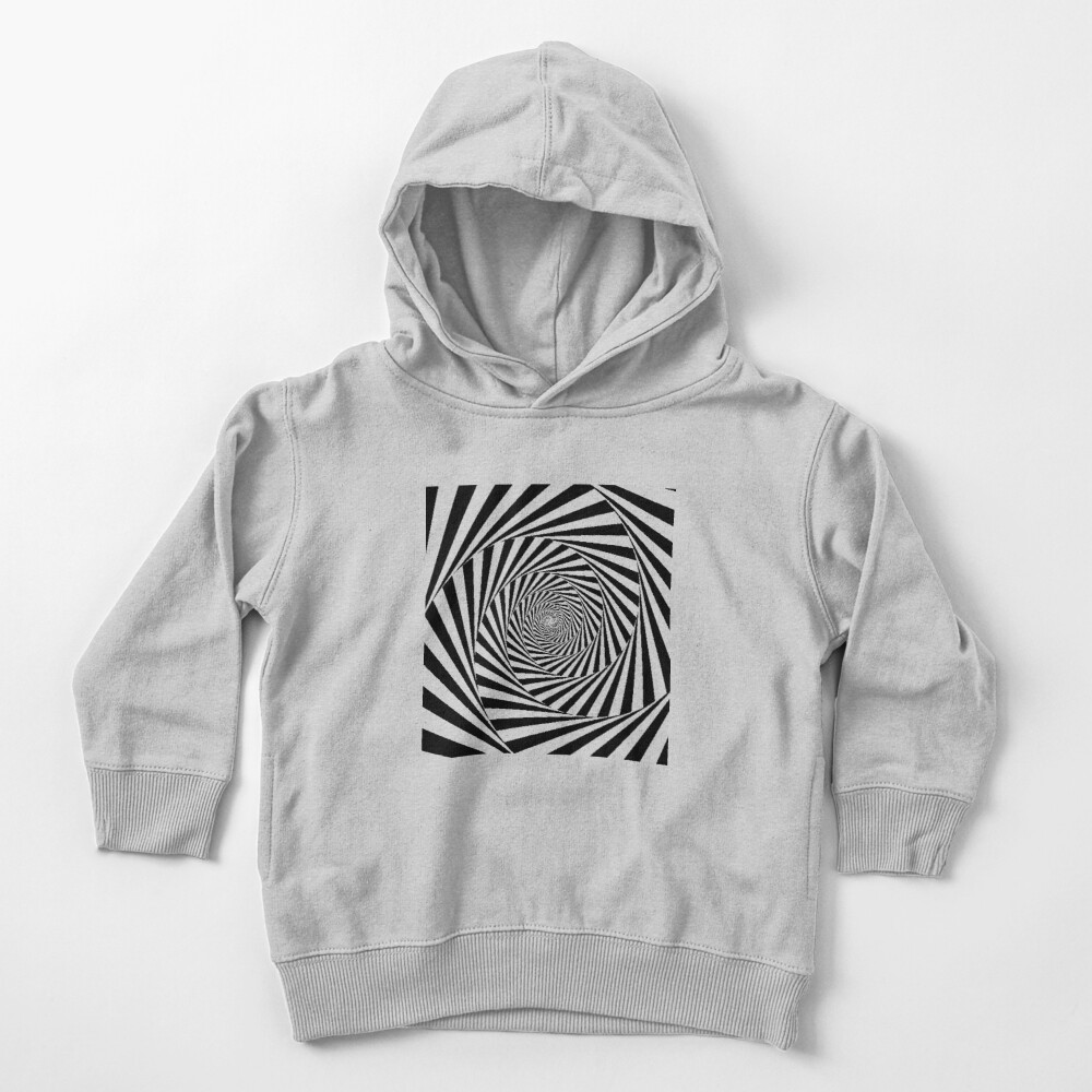 Optical Illusion Beige Swirl,  ssrco,toddler_hoodie,youth,heather_grey,flatlay_front,square,1000x1000-bg,f8f8f8