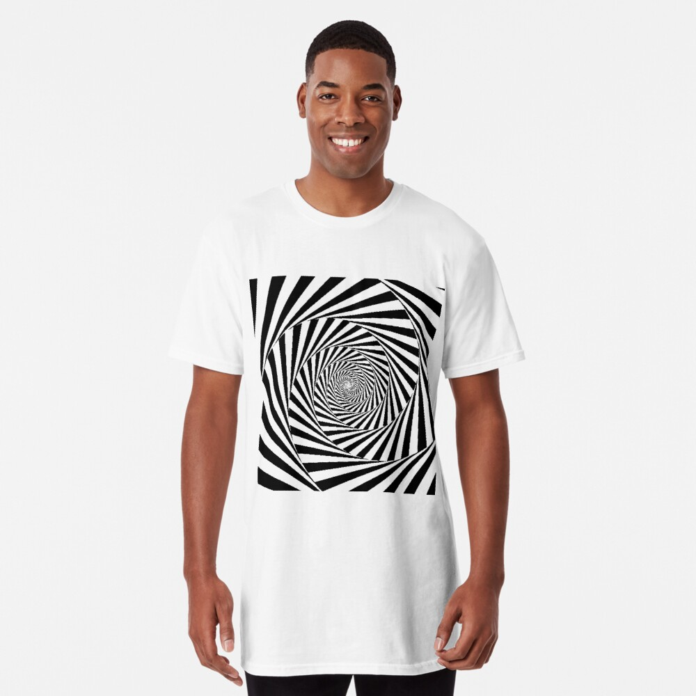 Optical Illusion Beige Swirl,  ssrco,long_t_shirt,mens,fafafa:ca443f4786,front,square_three_quarter,x1000-bg,f8f8f8