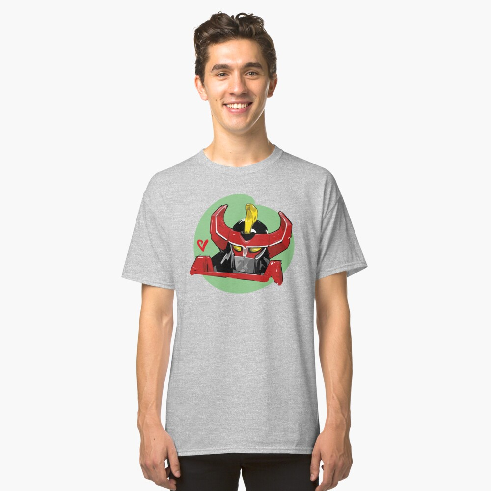 Megazord Artwork Classic T-Shirt