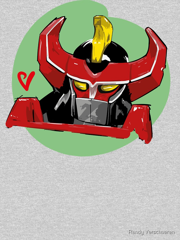 Megazord Artwork by vieke