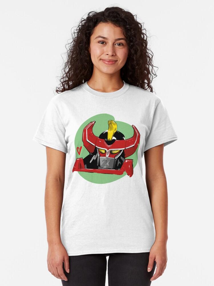 Alternate view of Megazord Artwork Classic T-Shirt
