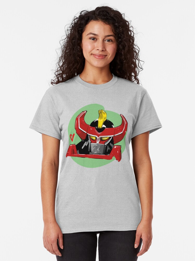 Alternate view of Megazord Artwork Classic T-Shirt