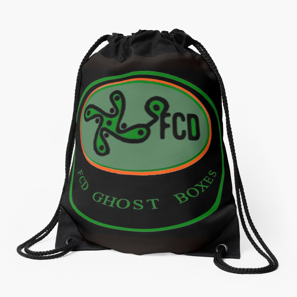 FCD Ghost Boxes Logo Drawstring Bag