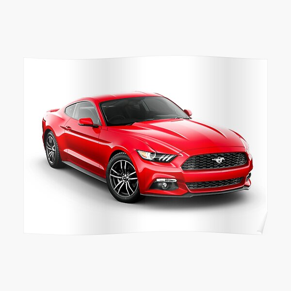 Ford Mustang GT 2020 Poster