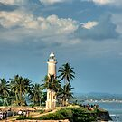 Galle Lighthouse by Dilshara Hill