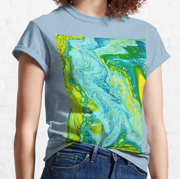 B U Blue Classic T-Shirt