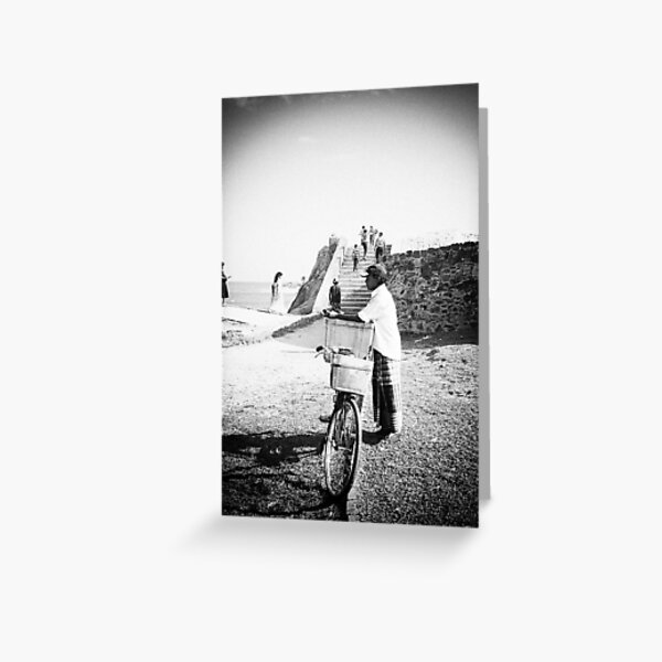 People of Galle Greeting Card
