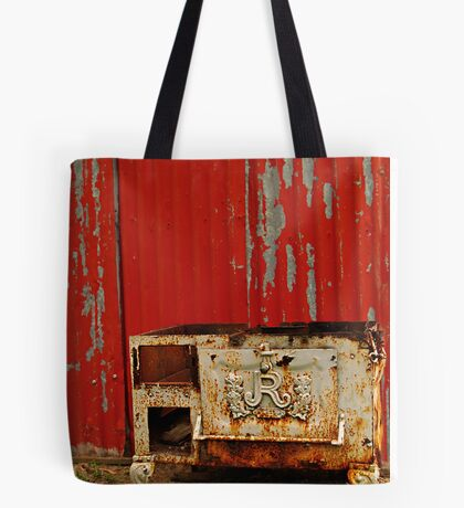 R is for Red & Rusty Tote Bag
