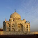 Taj  Mahal at sunrise by John Mitchell