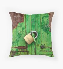 ... do you have the key? ... Throw Pillow