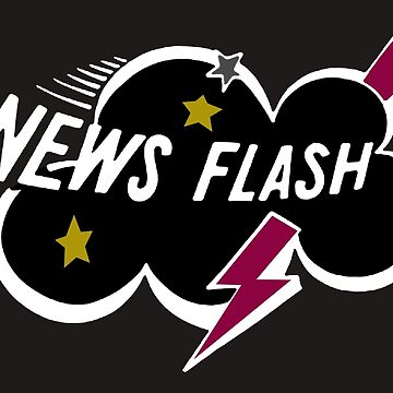 Muppet News Flash - Diseño de logotipo de NoirGraphic