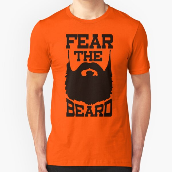 Fear The Beard Shirt by Fear The Beard Slim Fit T-Shirt