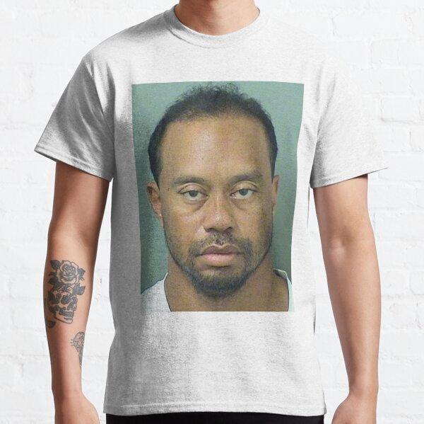 Tiger Woods Mugshot Classic T-Shirt