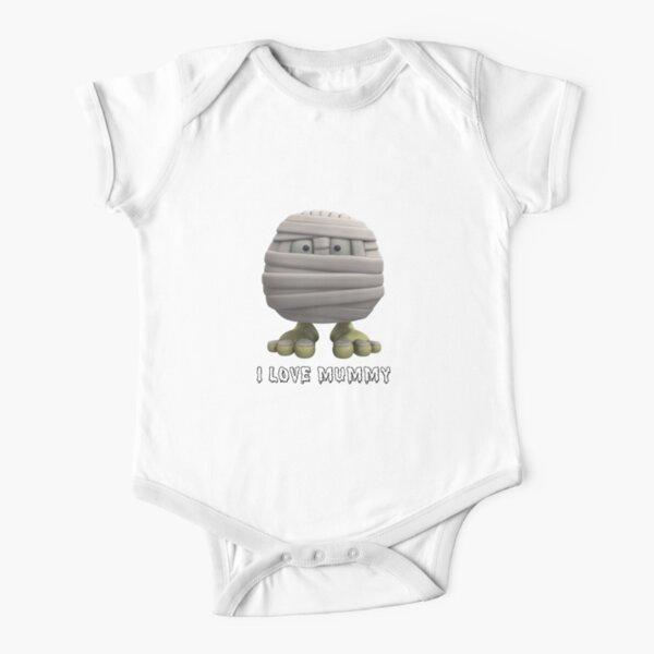 I Love Mummy Short Sleeve Baby One-Piece