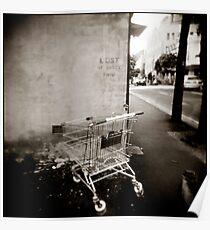 { a sense of abandonement } Poster
