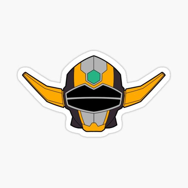 Power Rangers Lost Galaxy Magna Defender Sticker