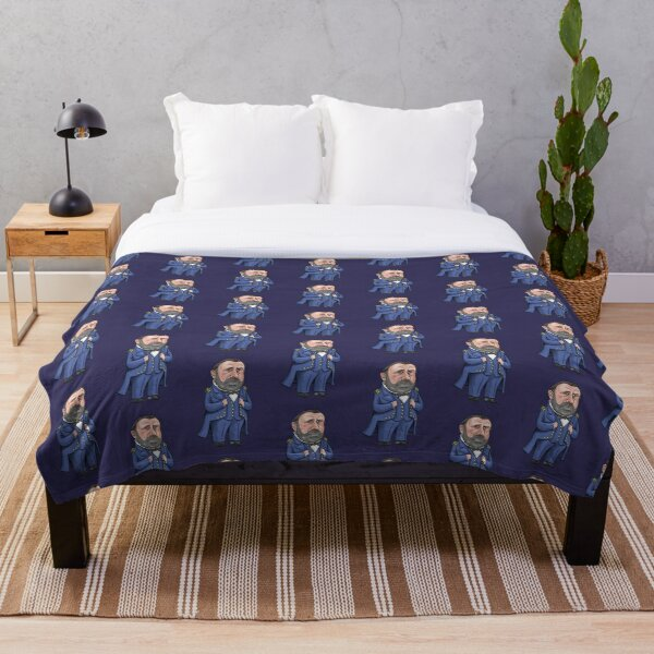 President Ulysses S. Grant Throw Blanket