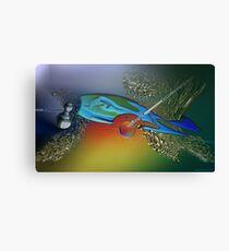 The bait and the last tuna Canvas Print
