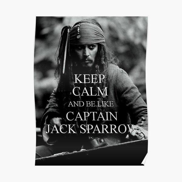 Captain Jack Sparrow  KEEP CALM Poster