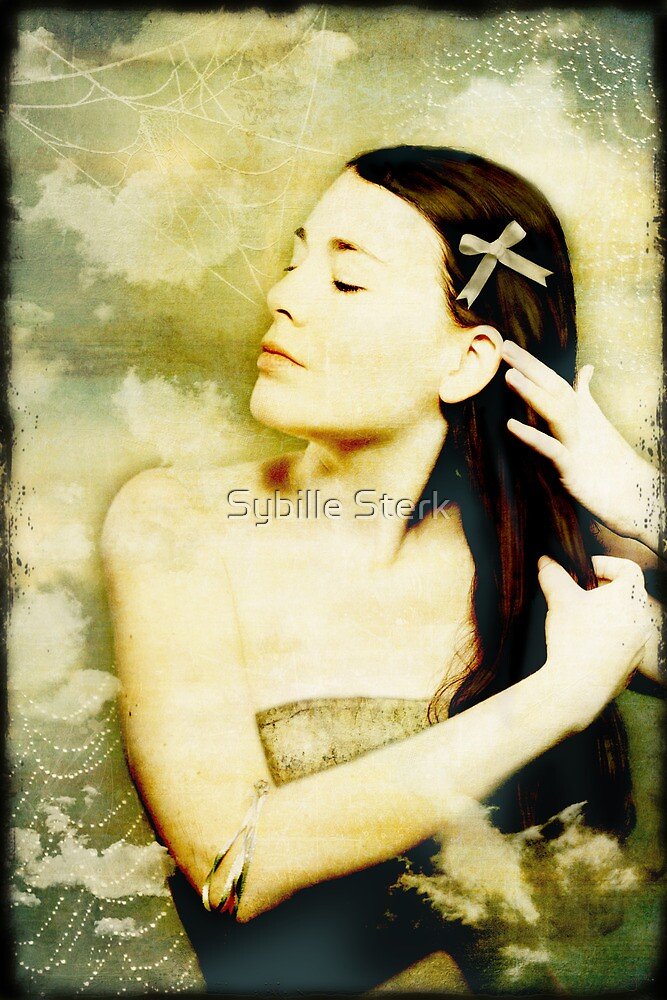 Girl With Ribbon by Sybille Sterk