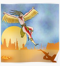 Angel of the Plains Landing. Poster