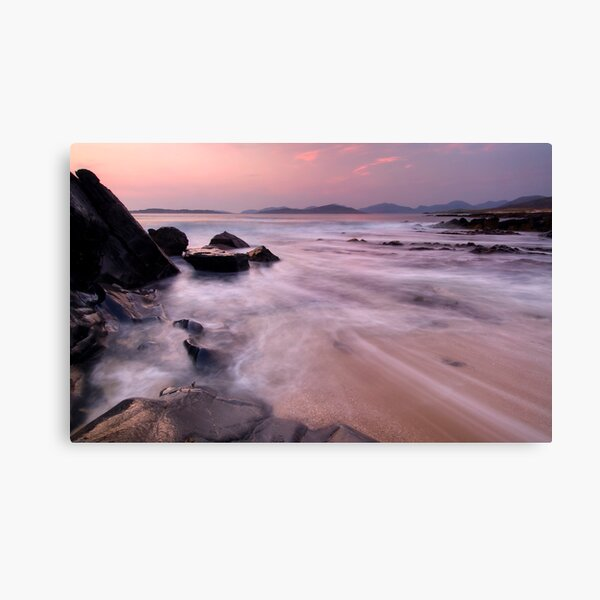 The Western Isles of Scotland, Sunset Canvas Print
