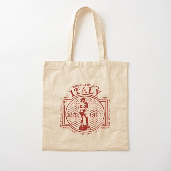 Italy Cotton Tote Bag