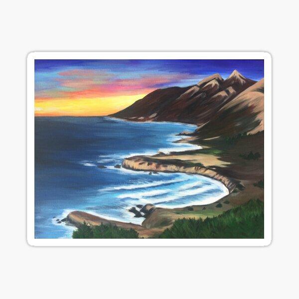 Big Sur Sunset  Sticker