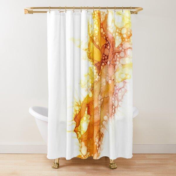 Rising Shower Curtain