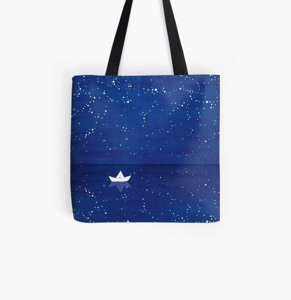 Zen sailing All Over Print Tote Bag