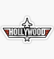 Top Gun Hollywood (with Tomcat) Sticker