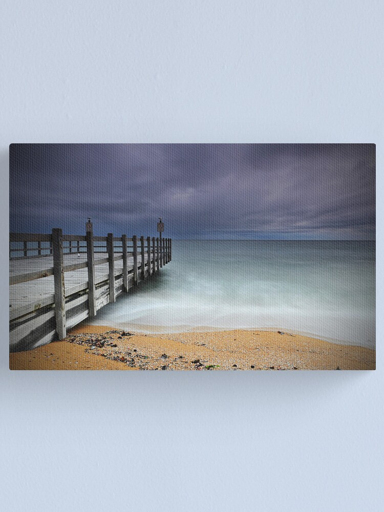 Alternate view of Approaching Storm - Mentone Canvas Print